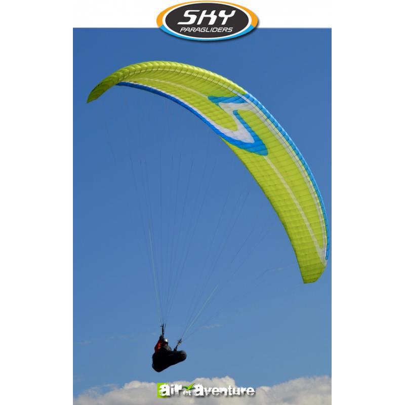 Voile de parapente Verte Exos de Skyparagliders