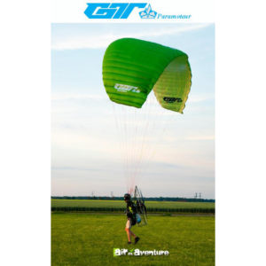 Voile de Paramoteur Verte GT2 de la marque Little Cloud