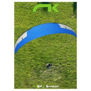 Voile de parapente Bleue Ikuma 2 P par Niviuk