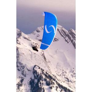 Voile de parapente Bleue Step de la marque Supair