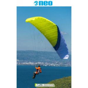 Voile de Speedflying Verte er Bleue X-Fly de la marque Neo