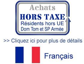 Bouton vers les informations concernant les taxes européennes