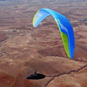 Voile de parapente Bleue Icepeak X-One de Niviuk