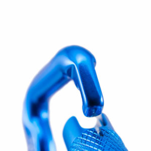 Mousqueton à verrouillage automatique bleu de Kortel