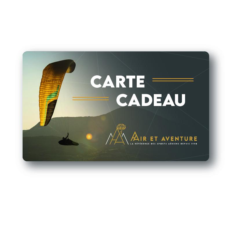Carte cadeau avec parapente de Air et Aventure