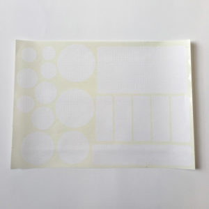 Planche A4 pré découpée de tissu Ripstop