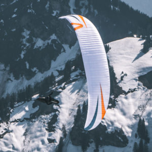 Voile de parapente blanche X-Alps 4 de Skywalk