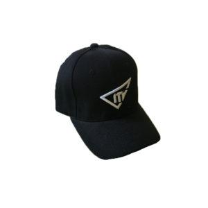 Casquette noire avec logo de la marque ITV