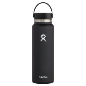 Bouteille isotherme noir de la marque Hydroflask
