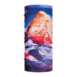 Tour de cou à imprimé montagne ensoleillé