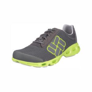 Chaussure de Trail grise et jaune