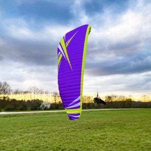 Voile de parapente violette Wasabi par ITV