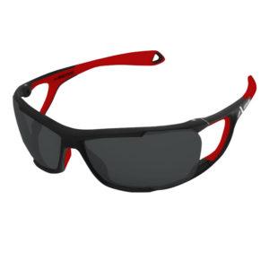 Lunettes Solaire noir et rouge Ultimate de la marque Altitude Eyewear