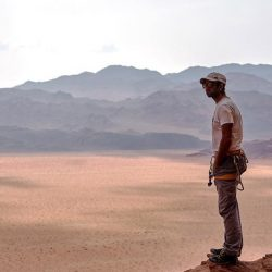Julien, moniteur de parapente dans le désert